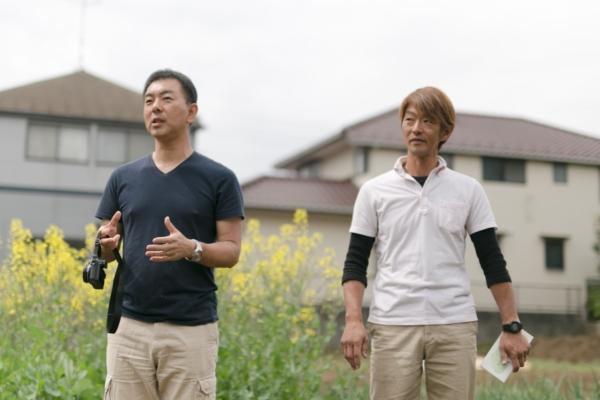 わかりやすく、時より楽しく、おかしく自然薯と栽培方法について語る岡元兄弟